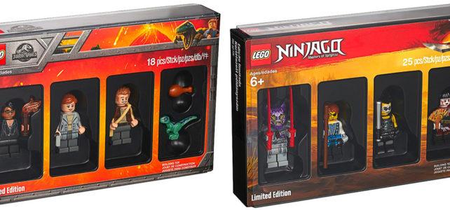 LEGO 5005255 Jurassic World et 5005257 Ninjago