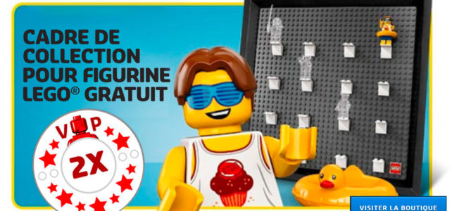 LEGO 5005359 Minifigure Collector Frame VIP