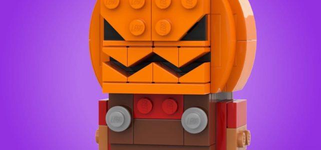 LEGO BrickHeadz Halloween citrouille