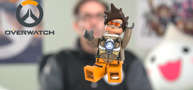 LEGO Overwatch Tracer minifig