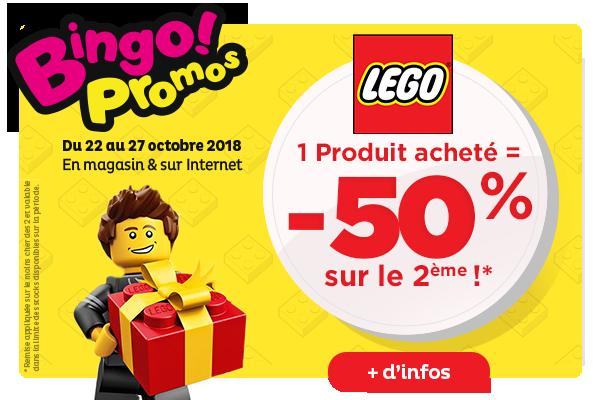 Promo LEGO Toys R Us Bingo