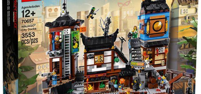 LEGO 70657 Ninjago Docks