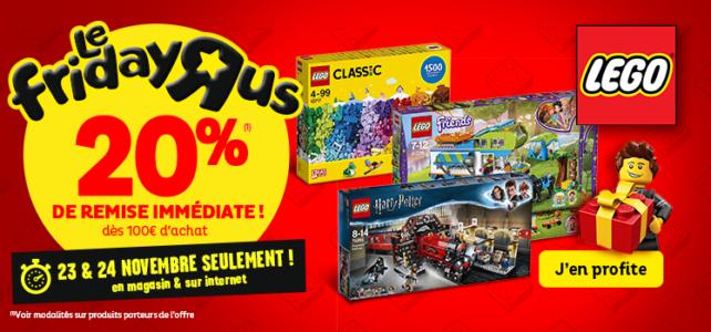 Black Friday LEGO Toys R Us