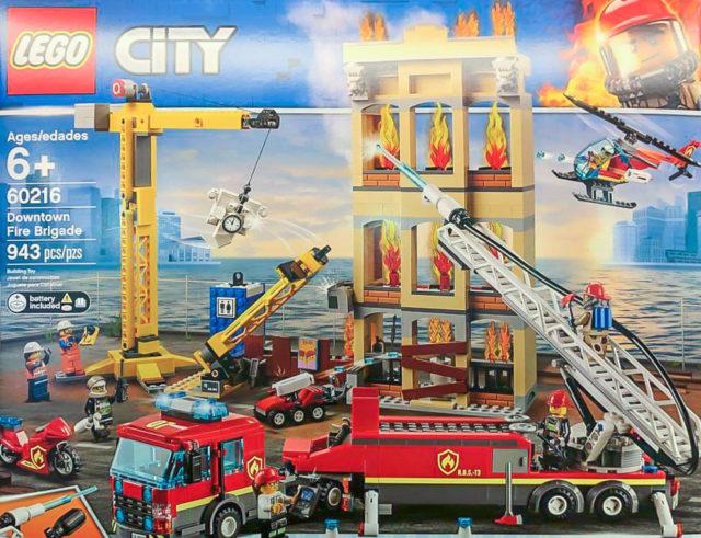 Nouveautés LEGO City et LEGO Creator 2019 - LEGO 60216 Downtown Fire Brigade