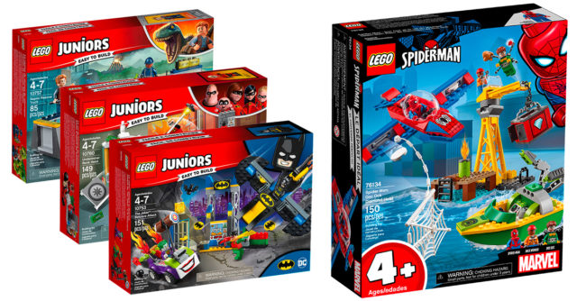 LEGO Juniors 4+
