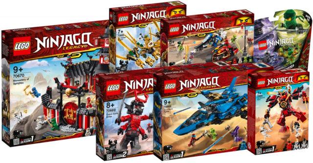 LEGO Ninjago 2019 Legacy