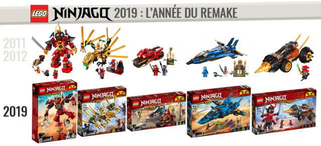 LEGO Ninjago 2019 remake