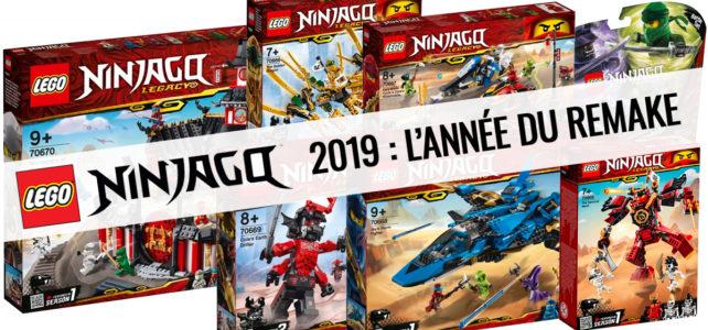 Nouveautés LEGO Ninjago 2019 Legacy : les visuels officiels de l'année du remake