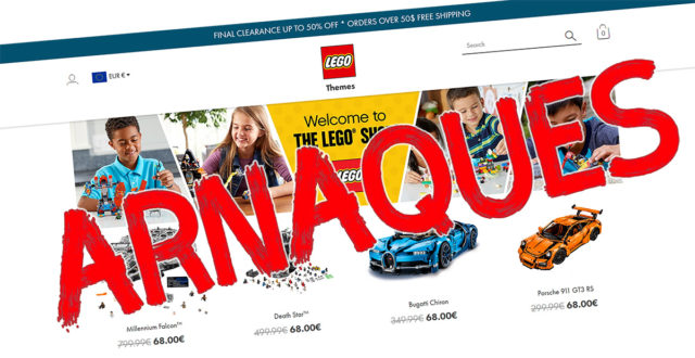 LEGO arnaques