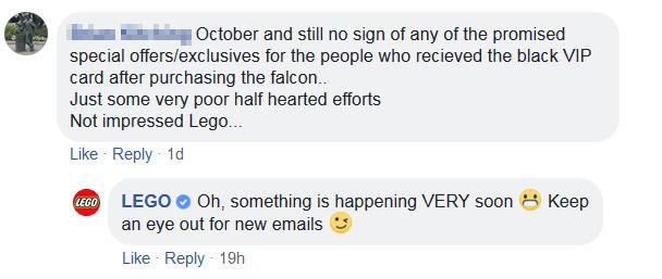 LEGO carte noire VIP novembre