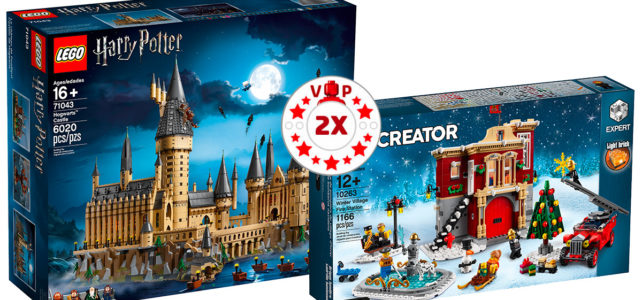 LEGO points VIP x2 10263 71043