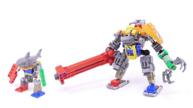 LEGO requin mecha
