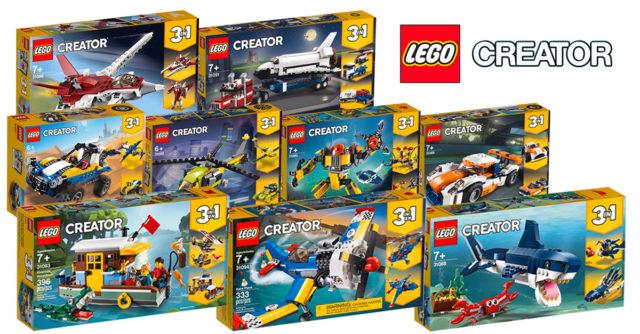 Nouveautés LEGO Creator 2019