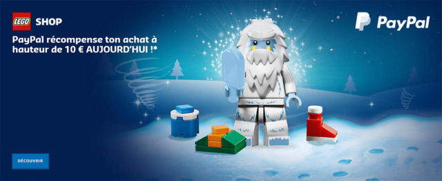 Paypal LEGO 2018