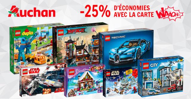 Promo LEGO Auchan 2018 nov
