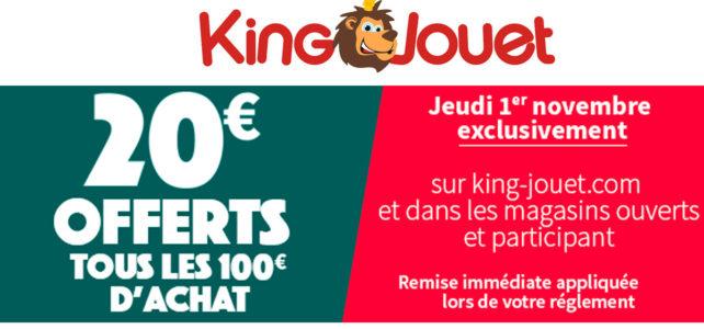 Promo LEGO King Jouet 2018 fb