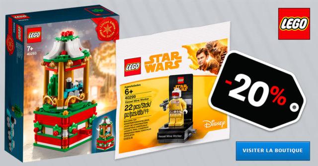 Promo LEGO noel 2018