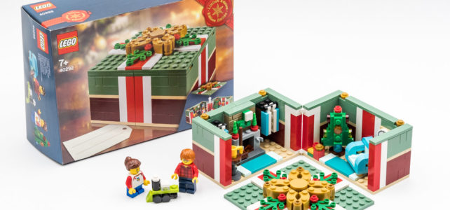 REVIEW LEGO 40292 Seasonal Christmas Gift Box : original et festif !
