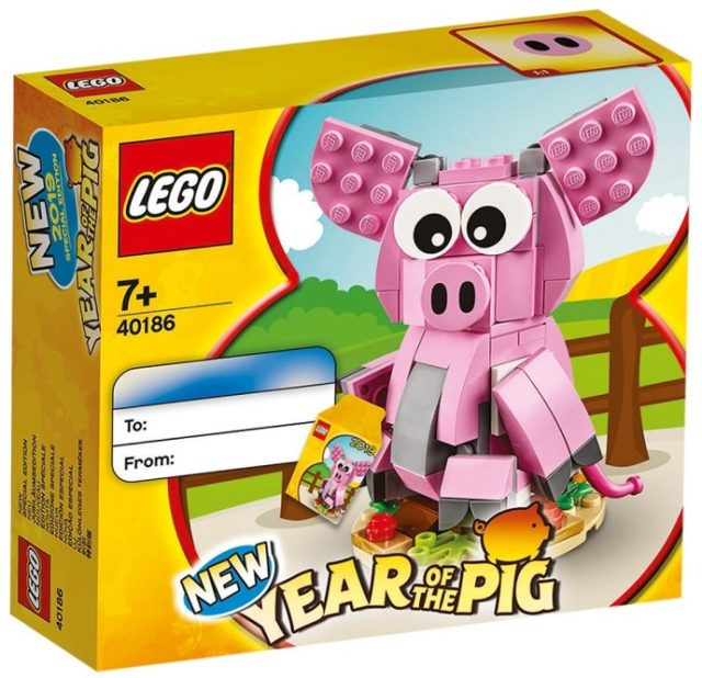 LEGO 40186 Year of the Pig - L'année du cochon