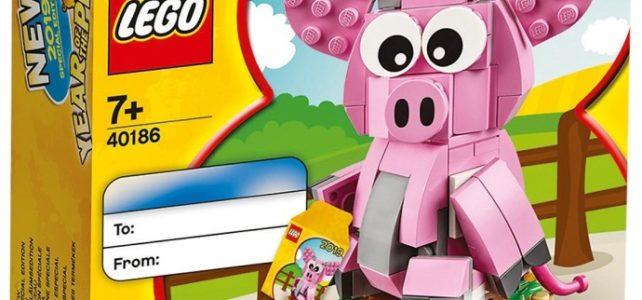 LEGO 40186 Year of the Pig - L'année du cochon