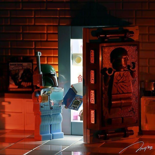 LEGO Boba Fett Solo Carbonite