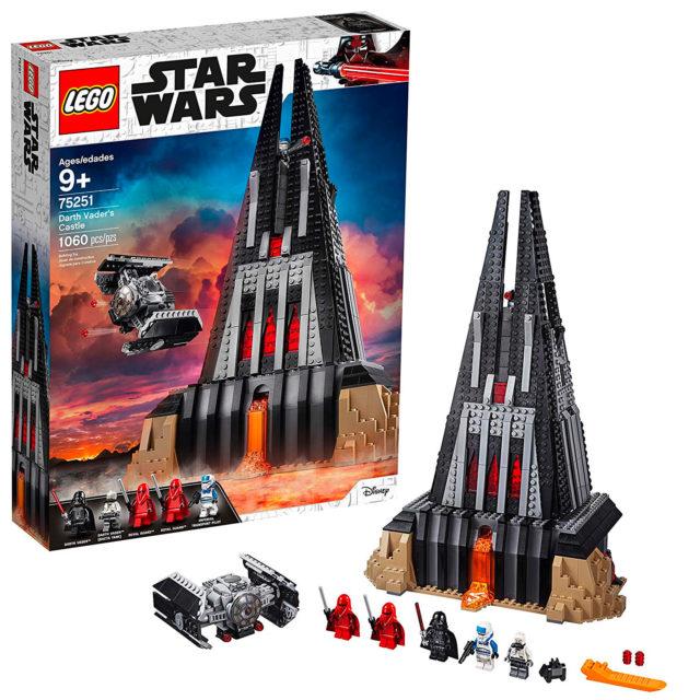 LEGO Star Wars 75251 Darth Vader Castle