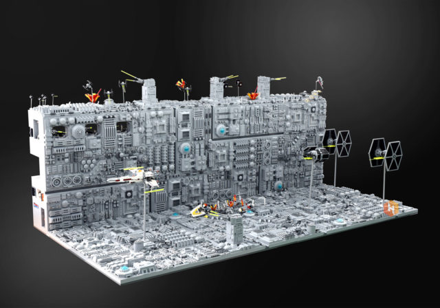 LEGO Star Wars Death Star recto