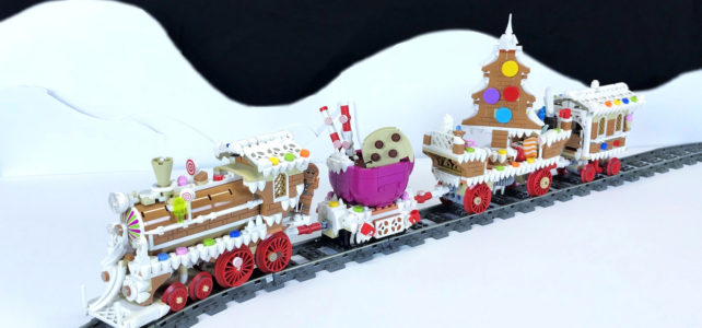 LEGO train Gingerbread Express