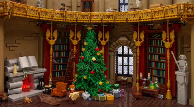Noel Poudlard LEGO Harry Potter