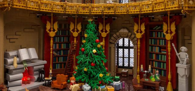 Noel Poudlard LEGO Harry Potter