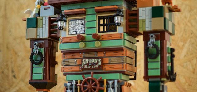 One Set MOC LEGO Ideas 21310 Old Fishing Store