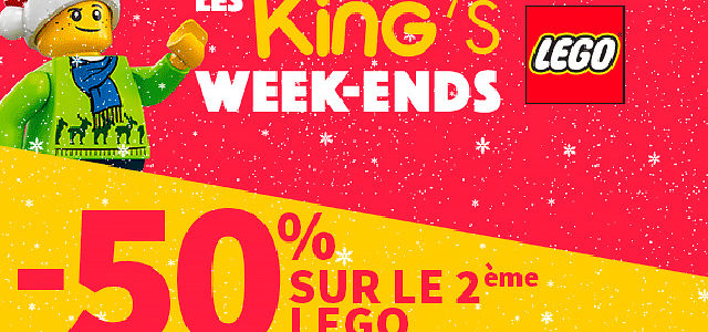 Promo King jouet LEGO weekend