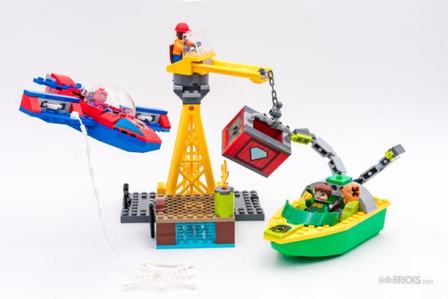 REVIEW LEGO 76134 Spider-Man Doc Ock Diamond Heist