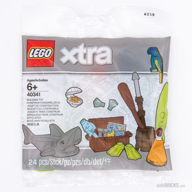 REVIEW LEGO Xtra 40341 Sea Accessories