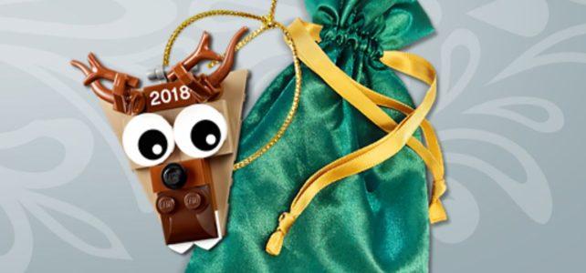 Renne LEGO 5005253 Christmas Ornament