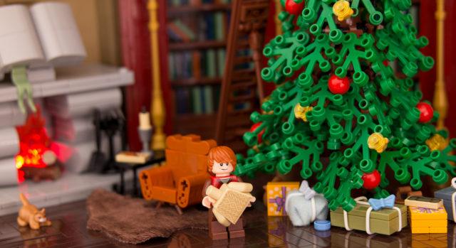 Xmas Hogwarts LEGO Harry Potter