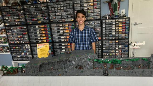 diorama LEGO Indiana Jones