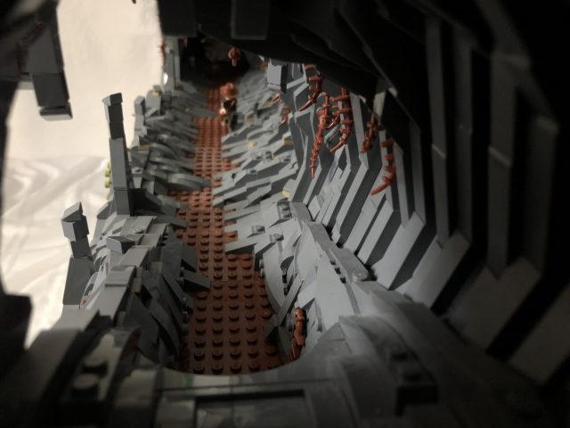 diorama LEGO Indiana Jones Raiders Lost Ark