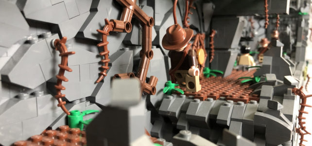 diorama LEGO Indiana Jones et les Aventuriers de l'Arche Perdue