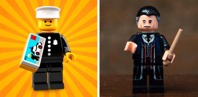 rare LEGO minifigures