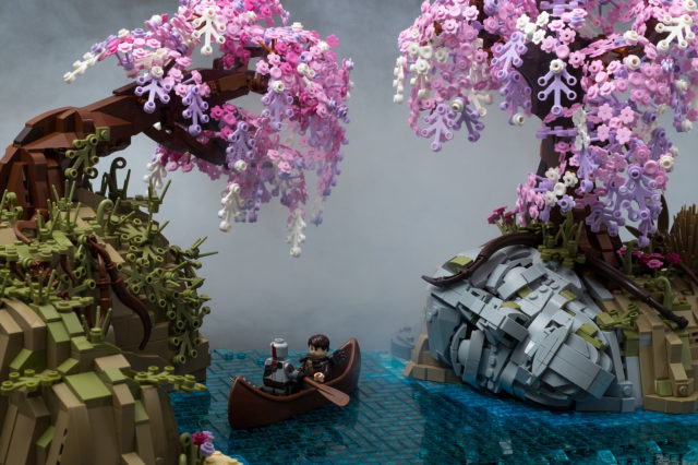 LEGO God of War Alfheim