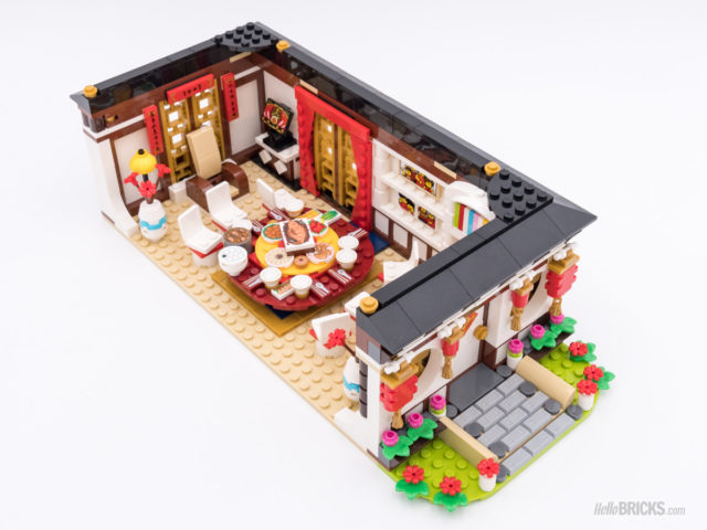 REVIEW LEGO 80101 Chinese New Year's Eve Dinner
