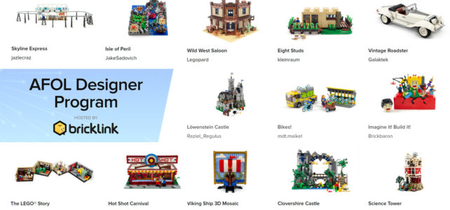LEGO Bricklink AFOL designer program