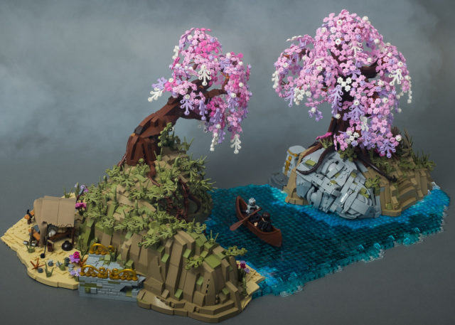 LEGO God of War Alfheim