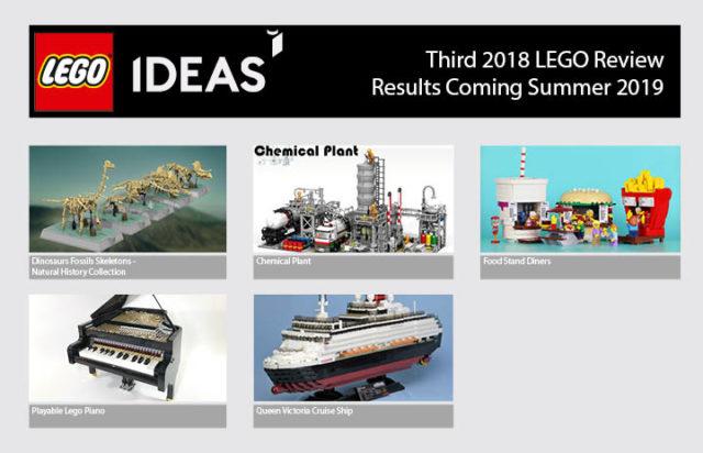LEGO Ideas 2018 phase 3