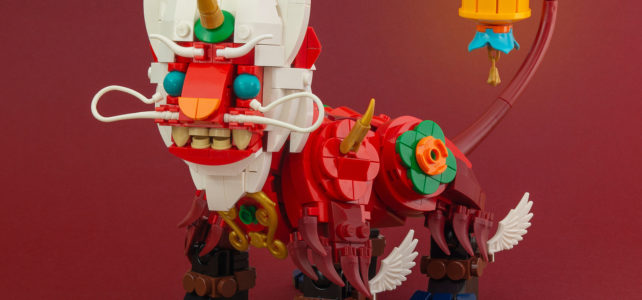 LEGO Nouvel An chinois Nian