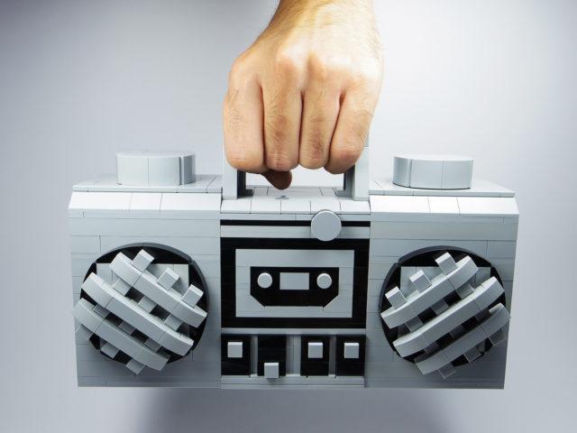 LEGO Radio Boom Box XXL 93221pb03