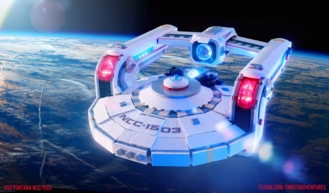 LEGO Star Trek USS Fontana