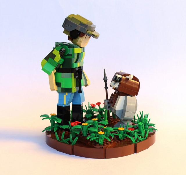 LEGO Star Wars Leia Ewok
