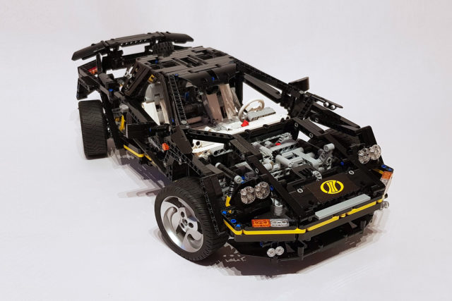 LEGO Technic 8880 updated